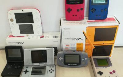 De la Nintendo Gameboy à la Ds